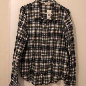 Roxy Flannel Shirt, size XL BNWT